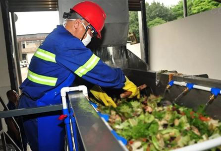 大学食堂餐厨垃圾